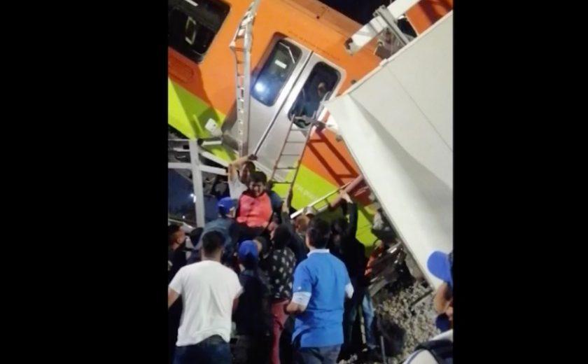 Tremendo accidente en la Línea 12 del Metro con saldo preliminar de 23 muertos y más de 70 heridos