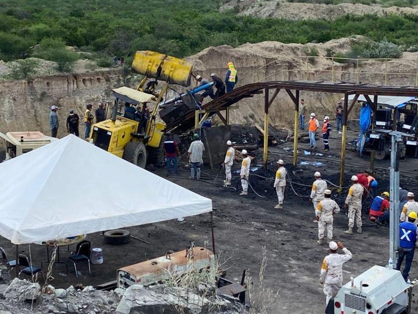 Rescatan sexto cuerpo de minero en Múzquiz, Coahuila
