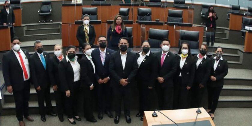 Conforman Red Mexicana de Enfermería; Eduardo Ramírez le toma protesta