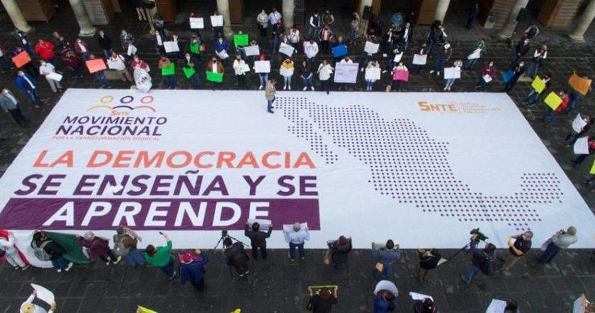 Exigen maestros urgente democracia en el SNTE y fuera Alfonso Cepeda