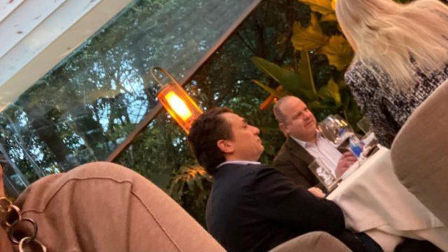 Legal, pero inmoral, que Lozoya haya sido captado cenando en CMDX: Obrador